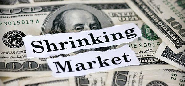 shrinking markets